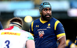 Tevita Cavubati of Worcester Warriors - Mandatory by-line: Robbie Stephenson/JMP - 28/01/2017 - RUGBY - Sixways Stadium - Worcester, England - Worcester Warriors v Harlequins - Anglo Welsh Cup