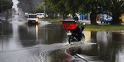 SOUTH AFRICA  - Cape Town - 26 May 2020 - A heavy rain fall has caused Washington Streen in langa to flood,for the past 3 days the Western Cape has been having a bad weather .photograph;Phando Jikelo/African News Agency(ANA)