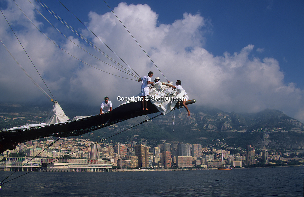 Classic week,sailing ships     Monaco        Classic week, rassemblement de  voiliers et de bateaux ?    Monaco   R00286/2    L4104  /  R00286  /  P0007567