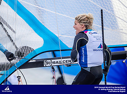 From 27 January to 3 February 2019, Miami will host sailors for the second round of the 2019 Hempel World Cup Series in Coconut Grove. More than 650 sailors from 60 nations will race across the 10 Olympic Events. ©JESUS RENEDO/SAILING ENERGY/WORLD SAILING<br /> 30 January, 2019.