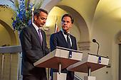 Persconferentie Premier Rutte en Premier Mitsotakis