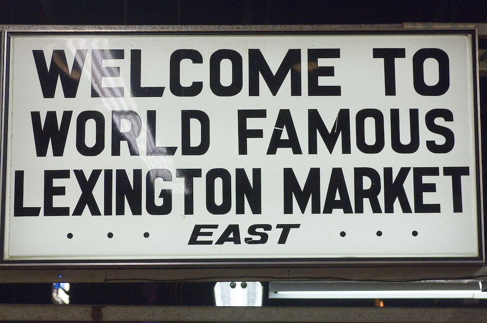 Lexington Market in Baltimore, Md