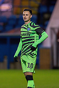 Aaron Collins (#10) of Forest Green Rovers during the The FA Cup match between Carlisle United and Forest Green Rovers at Brunton Park, Carlisle, England on 10 December 2019.