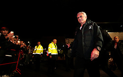 Manchester United manager Jose Mourinho arrives at Ashton Gate for the Carabao Cup Quarter Final tie with Bristol City - Mandatory by-line: Robbie Stephenson/JMP - 20/12/2017 - FOOTBALL - Ashton Gate Stadium - Bristol, England - Bristol City v Manchester United - Carabao Cup Quarter Final