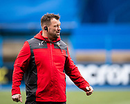 Head Coach Chris Horsman of Wales during the pre match warm up<br /> <br /> Photographer Simon King/Replay Images<br /> <br /> Six Nations Round 1 - Wales Women v Italy Women - Saturday 2nd February 2020 - Cardiff Arms Park - Cardiff<br /> <br /> World Copyright © Replay Images . All rights reserved. info@replayimages.co.uk - http://replayimages.co.uk