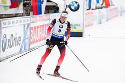 Henrik L'Abee-Lund (NOR) in action during the Pursuit Men 12,5 km at day 8 of IBU Biathlon World Cup 2018/19 Pokljuka, on December 9, 2018 in Rudno polje, Pokljuka, Pokljuka, Slovenia. Photo by Urban Urbanc / Sportida