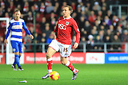Bristol City midfielder Luke Freeman during the Sky Bet Championship match between Bristol City and Queens Park Rangers at Ashton Gate, Bristol, England on 19 December 2015. Photo by Jemma Phillips.