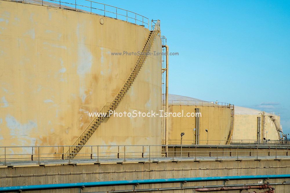 Israel, Tel Aviv, The Reading Power Station is located in north-western part of the city at the mouth of the Yarkon River, and was built in 1938 during the British Mandate of Palestine. since 2007 operating on natural gas.