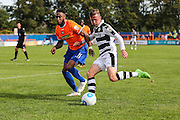 Forest Green Rovers Elliott Frear (11) during the Vanarama National League match between Braintree Town and Forest Green Rovers at the Amlin Stadium, Braintree, United Kingdom on 24 September 2016. Photo by Shane Healey.