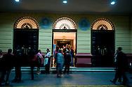 Evento Las Tres Caras del Tango. TEATRO NACIONAL  PIAZZOLLA POR PIAZZOLLA, POR ESCALANDRUM, LIDERADO POR DANIEL PIAZZOLLA.  LOS CAMPEONES MUNDIALES DE TANGO Y EL CANTANTE JAVIER NOSEDA, .Celebración del Bicentenario de Argentina, Ciudad de Panamá..Foto: Ramon Lepage / Istmophoto