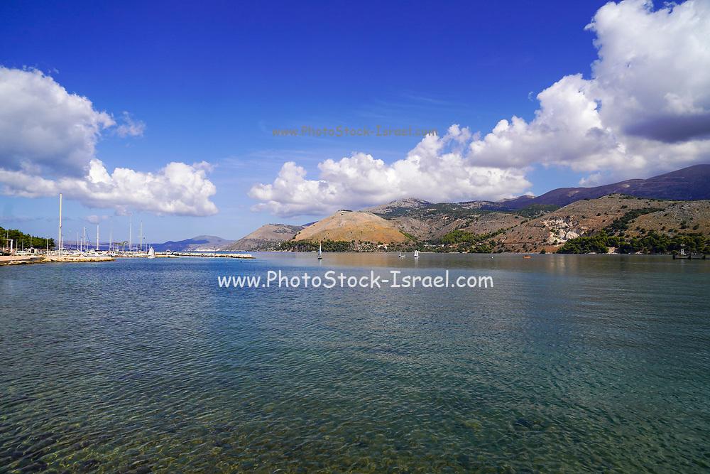 The coastline near Lassi, Cephalonia, Ionian Islands, Greece