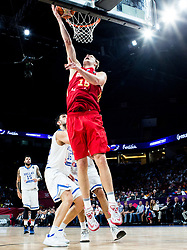 Timofey Mozgov of Russia during basketball match between National Teams of Greece and Russia at Day 14 in Round of 16 of the FIBA EuroBasket 2017 at Sinan Erdem Dome in Istanbul, Turkey on September 13, 2017. Photo by Vid Ponikvar / Sportida