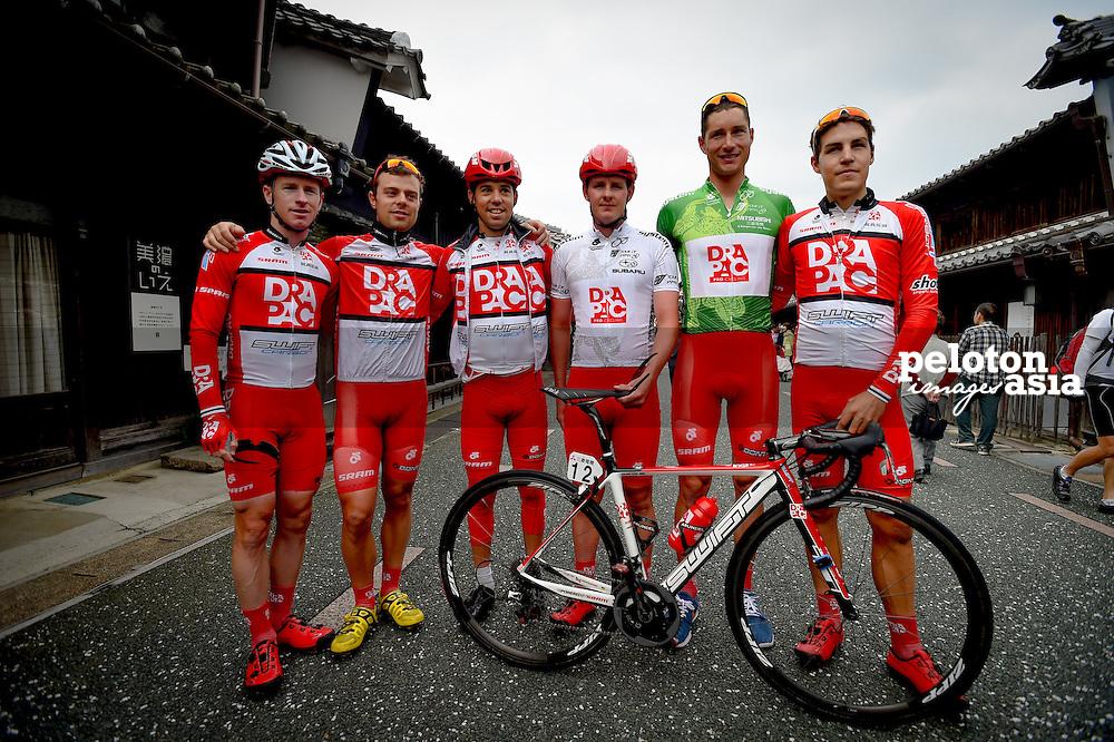 2014 Tour of Japan / stage2 / Japan / CLARKE William (AUS) / CRAWFORD Jai (AUS) / KERBY Jordan (AUS) / PHELAN Adam (AUS) / NORRIS Lachlan (AUS) WIPPERT Wouter (NED) / Drapac