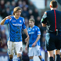 Hearts v St Johnstone…19.03.16  Tynecastle, Edinburgh<br />