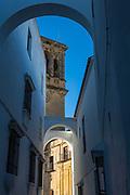 Spain; Arcos de la Frontera; Iglesia de Santa Maria de la Asuncion