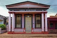 Masonic lodge in Artemisa, Cuba.