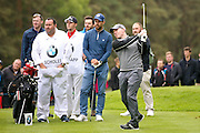 Manchester United  football legend Paul Scholes during the BMW PGA Championship Celebrity Pro-Am Day at the Wentworth Club, Virginia Water, United Kingdom on 25 May 2016. Photo by Simon Davies.