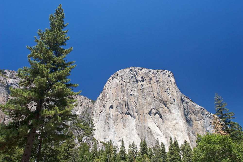 El Capitan, in Yosemite National Park, California.