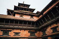 The Patan Museum in Durbar Square, in Patan, Nepal.