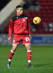 Zak Vyner of Bristol City warms up before the FA Cup third round game between Bristol City and West Bromwich Albion on 20 January 2016 in Bristol, England - Mandatory by-line: Paul Knight/JMP - Mobile: 07966 386802 - 19/01/2016 -  FOOTBALL - Ashton Gate Stadium - Bristol, England -  Bristol City v West Bromwich Albion - FA Cup third round