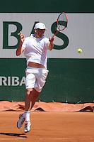 Guy FORGET - 04.06.2015 - Jour 12 - Roland Garros 2015<br /> Photo : Nolwenn Le Gouic / Icon Sport