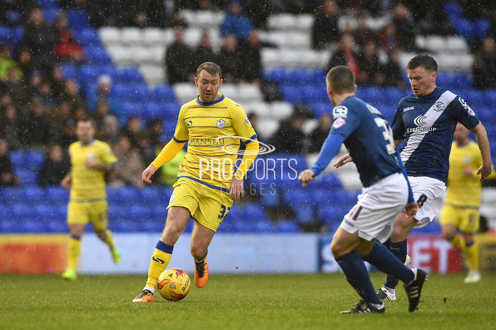 Sheffield Wednesday midfielder AidenMcGeady (37) during the Sky Bet Championship match between Birmingham City and Sheffield Wednesday at St Andrews, Birmingham, England on 6 February 2016. Photo by Jon Hobley.