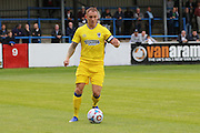 AFC Wimbledon defender & captain Barry Fuller (2) during the Pre-Season Friendly match between Dover Athletic and AFC Wimbledon at Crabble Athletic Ground, Dover, United Kingdom on 12 July 2016. Photo by Stuart Butcher.