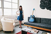 Maryland Institute College of Art (MICA) portraits of select grad students for annual book.<br /> <br /> &copy; 2013 Joey Pulone