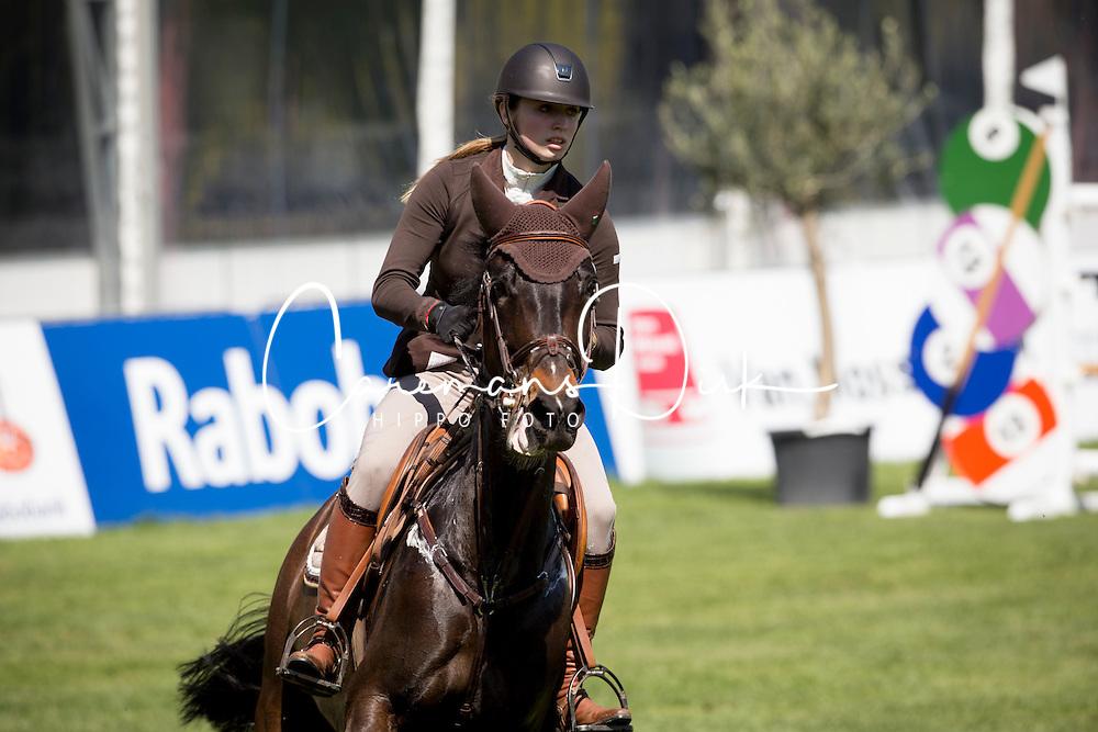 Norder Margot, (NED), Desteny<br /> Nederlands kampioenschap springen - Mierlo 2016<br /> © Hippo Foto - Dirk Caremans<br /> 21/04/16