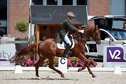 Van Der Meer Patrick, NED, Presidents First Apple<br /> Nederlands Kampioenschap Dressuur <br /> Ermelo 2017<br /> © Hippo Foto - Dirk Caremans<br /> 15/07/2017