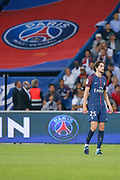 Adrien Rabiot (psg) during the French championship L1 football match between Paris Saint-Germain (PSG) and Saint-Etienne (ASSE), on August 25, 2017 at Parc des Princes, Paris, France - Photo Stéphane Allaman / ProSportsImages / DPPI