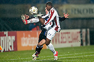 Onderwerp/Subject: Willem II - SC Heerenveen - Eredivisie<br /> Reklame:  <br /> Club/Team/Country: <br /> Seizoen/Season: 2012/2013<br /> FOTO/PHOTO: Virgil MISIDJAN (FRONT) of Willem II in duel with Marco PAPPA (BEHIND) of SC Heerenveen. (Photo by PICS UNITED)<br /> <br /> Trefwoorden/Keywords: <br /> #04 $94 ±1342781806743 ±1342781806743<br /> Photo- & Copyrights © PICS UNITED <br /> P.O. Box 7164 - 5605 BE  EINDHOVEN (THE NETHERLANDS) <br /> Phone +31 (0)40 296 28 00 <br /> Fax +31 (0) 40 248 47 43 <br /> http://www.pics-united.com <br /> e-mail : sales@pics-united.com (If you would like to raise any issues regarding any aspects of products / service of PICS UNITED) or <br /> e-mail : sales@pics-united.com   <br /> <br /> ATTENTIE: <br /> Publicatie ook bij aanbieding door derden is slechts toegestaan na verkregen toestemming van Pics United. <br /> VOLLEDIGE NAAMSVERMELDING IS VERPLICHT! (© PICS UNITED/Naam Fotograaf, zie veld 4 van de bestandsinfo 'credits') <br /> ATTENTION:  <br /> © Pics United. Reproduction/publication of this photo by any parties is only permitted after authorisation is sought and obtained from  PICS UNITED- THE NETHERLANDS