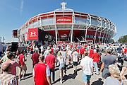ALKMAAR - 09-08-2015, AZ - Ajax, AFAS Stadion, 0-3, supporters.