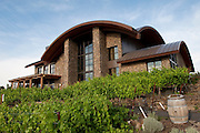 Cave B winery, vineyards, and resort overlooking the Columbia River, Quincy, Washington