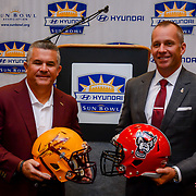 Hyundai Sun Bowl Head Coaches Press Conference , El Paso Convention Center December 28, 2017
