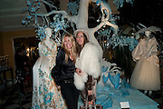 MELISSA ODABASH; LOUISE ROE, Unveiling of the Dior Christmas Tree by John Galliano at Claridge's. London. 1 December 2009 *** Local Caption *** -DO NOT ARCHIVE-© Copyright Photograph by Dafydd Jones. 248 Clapham Rd. London SW9 0PZ. Tel 0207 820 0771. www.dafjones.com.<br /> MELISSA ODABASH; LOUISE ROE, Unveiling of the Dior Christmas Tree by John Galliano at Claridge's. London. 1 December 2009