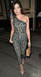 Modle Daisy Lowe attends The London 2014 Stella McCartney Green Carpet Collection during London Fashion Week at The Royal British Institute in London, UK. 14/09/2014<br />BYLINE MUST READ : GOTCHAIMAGES.COM<br /><br />Copyright by © Gotcha Images Ltd. All rights reserved.<br />Usage of this image is conditional upon the acceptance <br />of Gotcha Images Ltd, terms and conditions available at<br />www.gotchaimages.com
