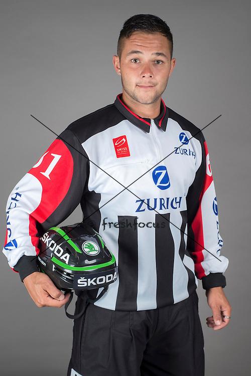 09.08.2015; Magglingen; Eishockey NLA - Schiedsrichter;<br /> Micha Hebeisen <br /> (Andy Mueller/freshfocus)