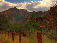 One of the first views upon entering Sedona from the Oak Creek Canyon