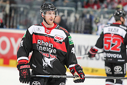 19.10.2014, LANXESS Arena, Köln, GER, DEL, Kölner Haie vs ERC Ingolstadt, 12. Runde, im Bild Christopher Minard (Koelner Haie), Koelner Haie - ERC Ingolstadt am 19.10.2014 in der Lanxess-Arena in Koeln (Nordrhein-Westfalen). // during Germans DEL Icehockey League 12 th round match between Cologne Haie and ERC Ingolstadt at the LANXESS Arena in Köln, Germany on 2014/10/19. EXPA Pictures © 2014, PhotoCredit: EXPA/ Eibner-Pressefoto/ Kohring_Fuss<br /> <br /> *****ATTENTION - OUT of GER*****