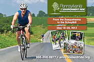 Postcard for the Pennsylvania Environment Ride benefiting the Pennsylvania Environmental Council.