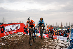 Lucinda BRAND of NED during the Women Elite race, UCI Cyclo-cross World Championship at Bieles, Luxembourg, 28 January 2017. Photo by Pim Nijland / PelotonPhotos.com | All photos usage must carry mandatory copyright credit (Peloton Photos | Pim Nijland)