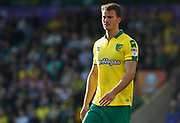 Norwich City's Christoph Zimmermann during the EFL Sky Bet Championship match between Norwich City and Hull City at Carrow Road, Norwich, England on 14 October 2017. Photo by John Marsh.