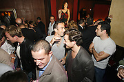 Frederick's Lounge. New York, New York.  Unites States..October 14th 2006..Red Bulls French soccer player Youri Djorkaeff parties with family and friends after a game against Kansas City at the Giants Stadium.This game could have been his last one as a professional player if the Red Bulls didn't win 3-2.