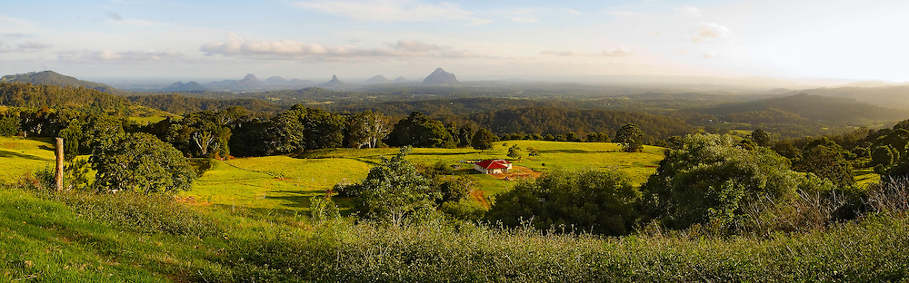 Discovered and named by Captain Cook in 1770, the Glass House Mountains can be seen from miles around.