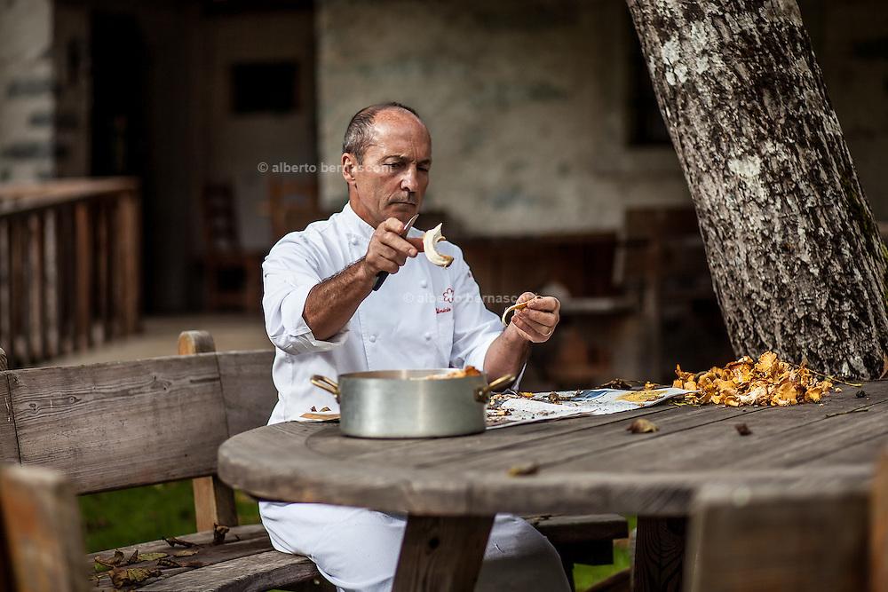 Chef Vinicio Tenni