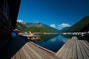 Ross Lake Resort, Ross Lake National Recreation Area, North Cascades National Park, Washington, US