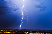 Storm Chaser: Amazing photos that convey the awesome power and beauty of nature<br /><br />Storm chaser Mike Olbinski captures lightning, tornadoes and dramatic cloud formations in stunning images that convey the awesome power and beauty of nature.<br /><br />Photographer Mike Olbinski chases storms throughout his native Arizona and further afield, capturing lightning, tornadoes and dramatic cloud formations in images that convey the awesome power and beauty of nature. A new book, Storm Chaser, gathers 100 of his most breathtaking images. He says he had always been interested in storms and would travel thousands of miles every year, chasing the big supercells and tornadoes that appear on the central plains of the United States each spring. &quot;But in 2011 my life changed,&quot; he says, &quot;On 5 July I received a text with a photo of a dust storm rolling into the Phoenix area from the southeast. The day before I had just started practising time lapse photography and when I heard about a dust storm heading my way, I grabbed my gear and headed to a parking garage down the street. I thought that a time-lapse of a dust storm over the city would really give people an idea of how large these things can be.<br /><br />&quot;As I pulled up to the top of the parking garage, my jaw dropped. The sky before me was unlike anything I'd ever seen. A massive wall of dust was headed my way. Not the normal dust storms you tend to see out here. No, this was like the end of the world. The wall was dense, thick and as tall as the clouds. It looked like a scene from the movie Independence Day. The National Weather Service would later say it was over 100 miles wide and a mile high.&quot;  The most amazing moment though for me was the day when I received a phone call from Al Gore's office, asking if they could use the footage in their climate change presentations. I was absolutely blown away.<br />mikes book is out now &quot;Storm Chaser by Mike Olbinksi&quot;, published by Pen &amp; S