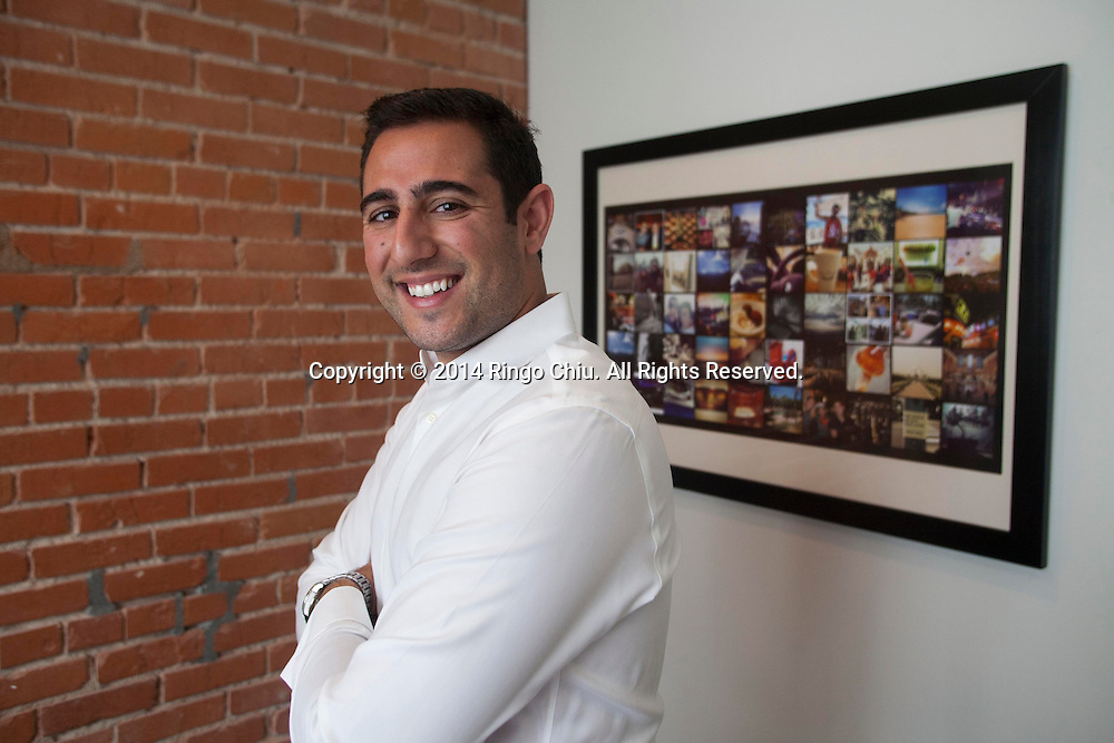 Justin Rezvani, CEO of TheAmplify. (Photo by Ringo Chiu/PHOTOFORMULA.com)