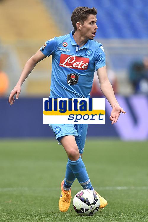 Jorginho Napoli <br /> Roma 04-04-2015 Stadio Olimpico, Football Calcio Serie A AS Roma - Napoli Foto Andrea Staccioli / Insidefoto